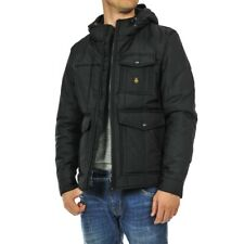 Giubbotto uomo REFRIGIWEAR ASTOR jacket Black nero G90500NY3209 300 € parka
