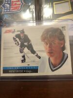 "Wayne Gretzky 1991 Score Los Angeles Kings ""The Franchise"" card #422"