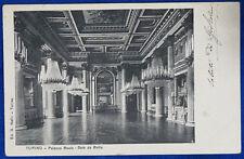 """TORINO Palazzo Reale Sala da Ballo viaggiata """"900 f/p #19409"""