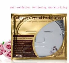 100 PCS Bio Collagen Facial Gold Face Masks White Crystal Gold Whitening