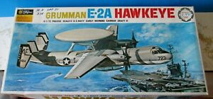 VINTAGE 1970 Fujimi 1/72 US Navy E-2A Hawkeye MODEL KIT