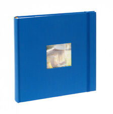 "Kenro Aztec Memo Album for 200 7"" x 5"" Photos - Blue #AZ103UE (UK Stock) BNIB"