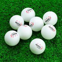 50Pcs 3-Star 40mm Table Tennis Advanced Training Ping Pong Balls USA