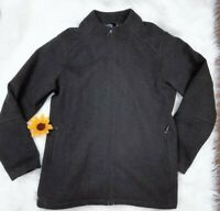 Patagonia Wool Black Full Zip Women's Jacket Size Large Excellent Condition