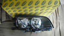 BMW E46 HEADLIGHT OFFSIDE WITH BULBS 1998-2005 MAGNETI 0301039606