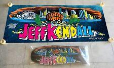 "Santa Cruz Kendall Skateboard Giant Vinyl Banner 59"" X 23"" - Powell Peralta"
