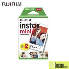 Fujifilm Instax Mini 20 Foto Scatti Film Pellicola per 7s 8 9 25 50s 70 90