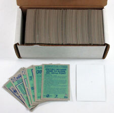 1990-91 Topps Blank Front Hockey Card Set ^ Wayne Gretzky ^ Steve Yzerman