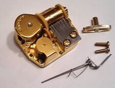 """Sankyo 18 Note Movement With Reuge Wire Stopper-""""Minuet""""-Mozart"""