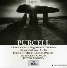 Dido & Aeneas/King Arthur/Dioclesian/& - H. Purcell (2004, CD NIEUW)5 DISC SET