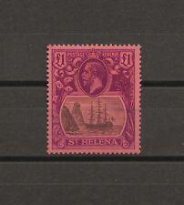 ST HELENA 1922/37 SG 96 MLH Cat £450 . CERT