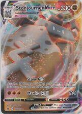 Pokemon Tcg Sword and Shield 116/202 Stonjourner Vmax Holographic Rare Card