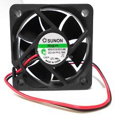 1pc SUNON  ME50151V3-000U-A99 fan  DC12V 0.78W 5015 2pin