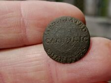 INTERESTING VERY OLD RELIGIOUS BUTTON