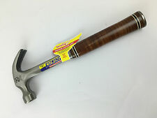 Estwing E20C 20oz Curved Claw Hammer Leather Grip www.secure-tools.com UK BASED