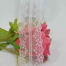 Encaje Floral neto bordado cinta 10 cm yarda 4 ancho de costura de la boda venta
