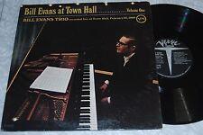 BILL EVANS TRIO Live At Town Hall VOLUME ONE Verve GF LP