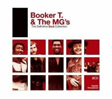 Booker T and The Mg's Definitive Soul Collection Double CD European Rhino 2007