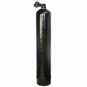 Whole House Water Filter System GAC Carbon Upflow No Electricity Required 1 CUFT