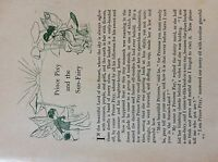 M17b1 ephemera 1920s short story prince pixie and the sun fairy edith robarts