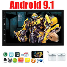 Double Din Car Stereo Audio Android 9.1 Systems 7-Inch MP5 Player FM Radio NEW