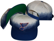 St. Louis Blues Two Tone Vintage Deadstock Snapback Hat / Cap