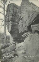 Under the Rocks Rock City Up To Date Variety Store Olean New York Postcard