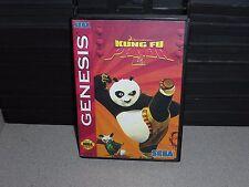 Kung Fu Panda 2 for Sega Genesis! Cart and Box