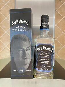 Jack Daniels 'Master Distiller No.6' Tennessee Whiskey - Empty Bottle in Box