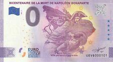 2021 PETIT N° RADAR 000101 BICENTENAIRE MORT DE NAPOLEON Billet touristique 0 €