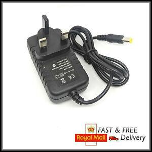Mains Charger for Gtech AirRam Cable Lead & UK Plug AR01, AR02, AirRam, K9 MK2
