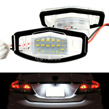 2X 18 SMD LED Bright License Plate Light For Acura TL TSX MDX Honda Civic Accord