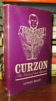 Mosley, Leonard CURZON :  The End of an Epoch 1st Edition 1st Printing