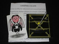 Vampire Escape Magic Trick - Walk Around, Close Up, Halloween, Street, Pocket