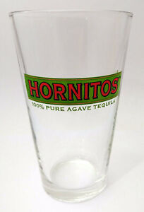 Hornitos 100% PURE AGAVE TEQUILA Conical Shaker Pint Glass