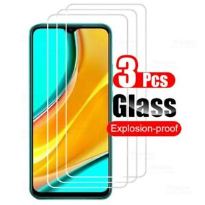 3pcs Tempered Glass For Xiaomi Redmi Note 10 9 8 7 9S Pro Screen Protector 8A 7A