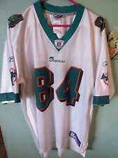 MIAMI DOLPHINS CHRIS CHAMBERS JERSEY SIZE ADULT LARGE