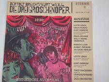 Bertold Brecht/Kurt Weill-i tre dai fumetti opera-LP eterna