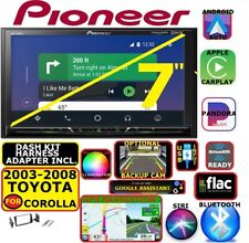 FITS 2003-08 TOYOTA COROLLA NAV BLUETOOTH USB AUX CARPLAY ANDROID AUTO CAR RADIO