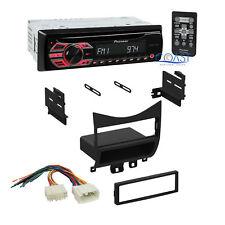 Pioneer Car Stereo CD MP3 Single Din Dash Kit w/ Harness for 03-07 Honda Accord