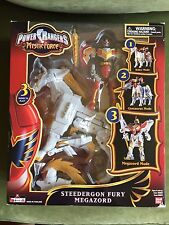 Complete in Box Power Rangers Mystic Force  Steedergon Fury Megazord Rare!