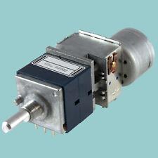 ALPS RK27112MC dual Potentiometer 50K ohm log audio taper pot Motrorized RK27