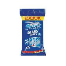 6 x toallitas de limpieza de vidrio Duzzit paquetes de 50 ventanas y espejos deslumbrantes Brillo Limpio Nuevo