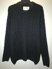 Mens River Island Cable-Knit Jumper, Size M