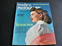 Modern Photography- June ,1954 Magazine -Great Illustrations, Articles and Ads.