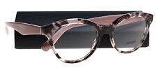 New Prada Eyeglasses Women VPR 11R Pink R0J-101  TRIANGLE 50mm