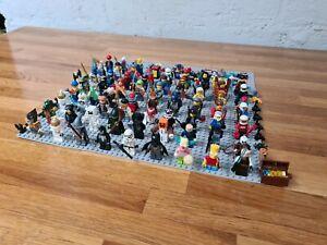 BULK Lego Minifigures Bulk Lot 66 Minifigs! Star Wars + Simpson + Marvel + LOTR