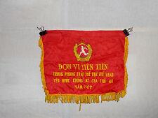 flag545 North Vietnam Army NVA flag TDTT Don Vi Tien Tien Trong Phong Trao The