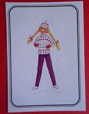 figurines prentjes cromos stickers picture cards figurine barbie 103 panini 1983