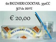 Bicchiere ottagonale 350cc 20pz Gold Plast 2876-21